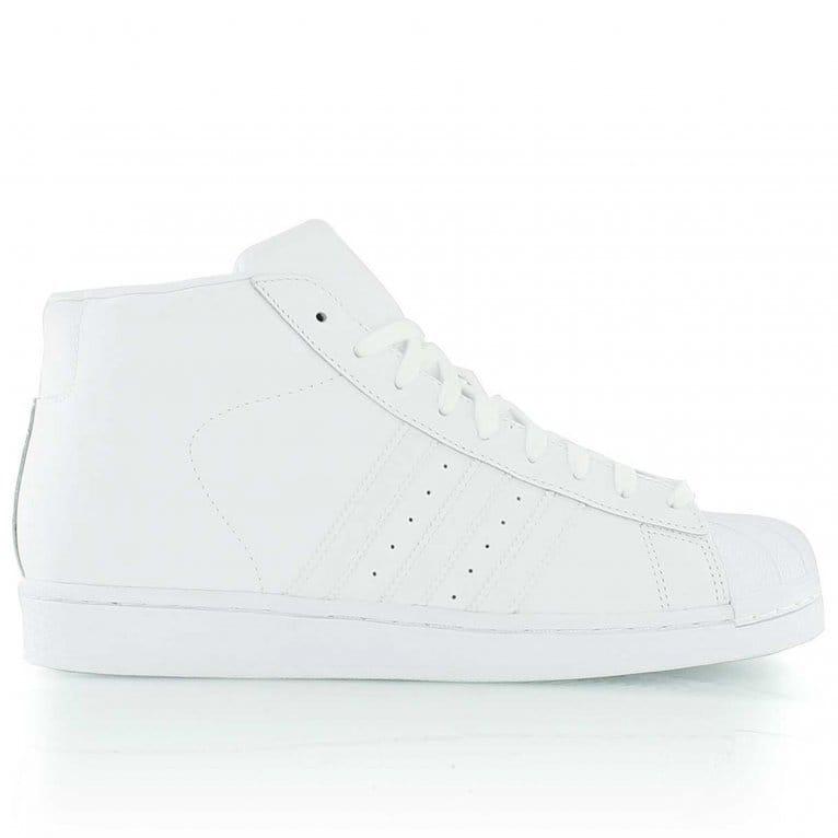 Adidas Originals Pro Model - White/White