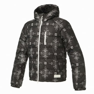 Short Down Jacket - Black
