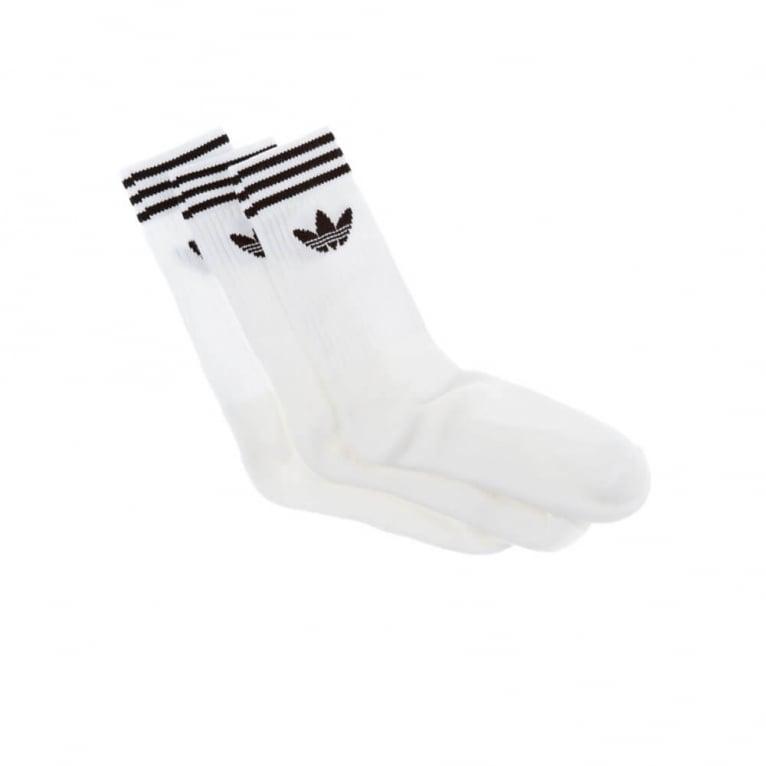 Adidas Originals Solid Crew Socks - Pack of Three