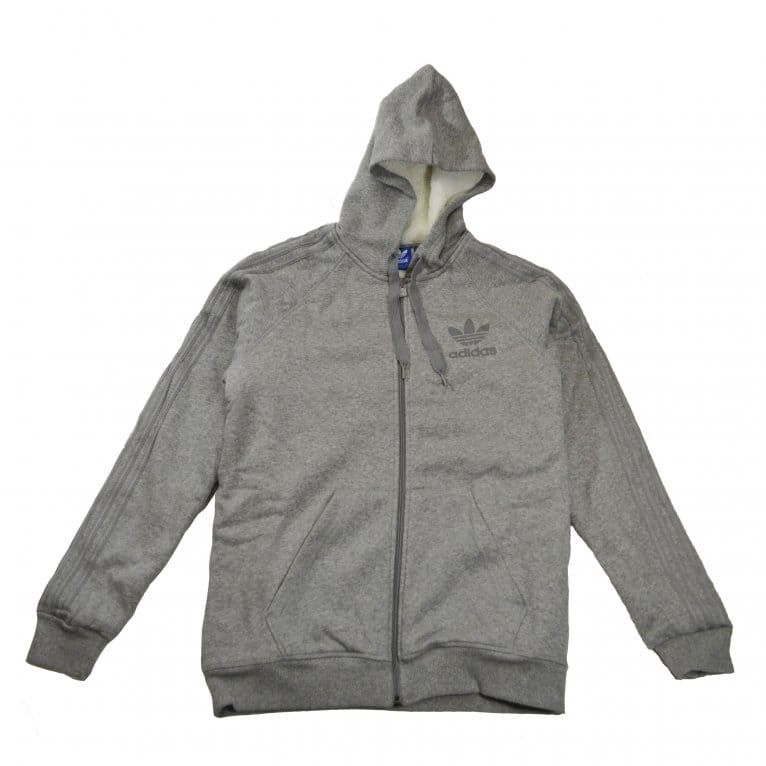 Adidas Originals SPO FZ Sherpa L Hood - Black