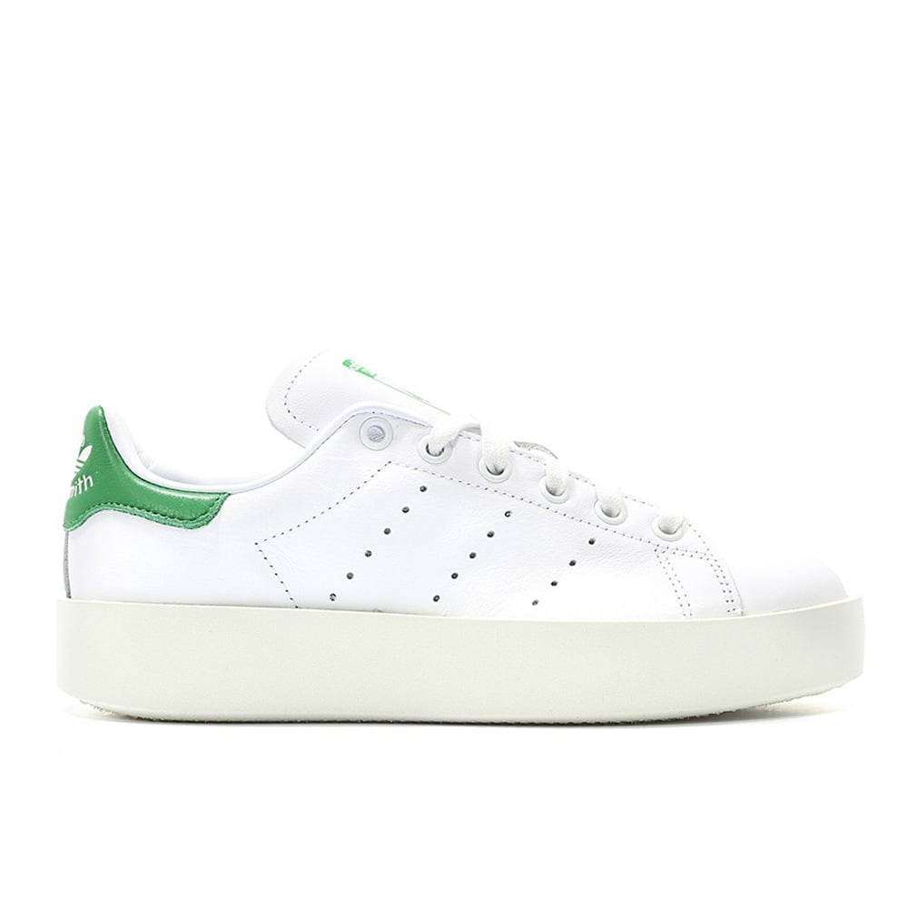 hot sales 72383 5518a adidas originals Stan Smith Bold Women's - White/Green