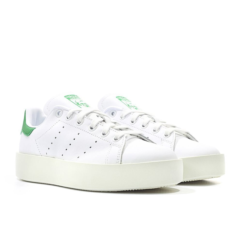 hot sales 49b9f a69fa adidas originals Stan Smith Bold Women's - White/Green