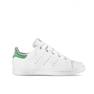 Stan Smith Childrens - Run White/Fairway Green