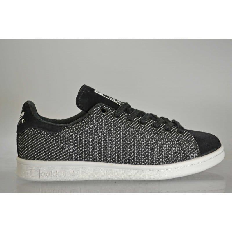 more photos 7d3a2 081e8 adidas originals Stan Smith Primeknit Black/Black