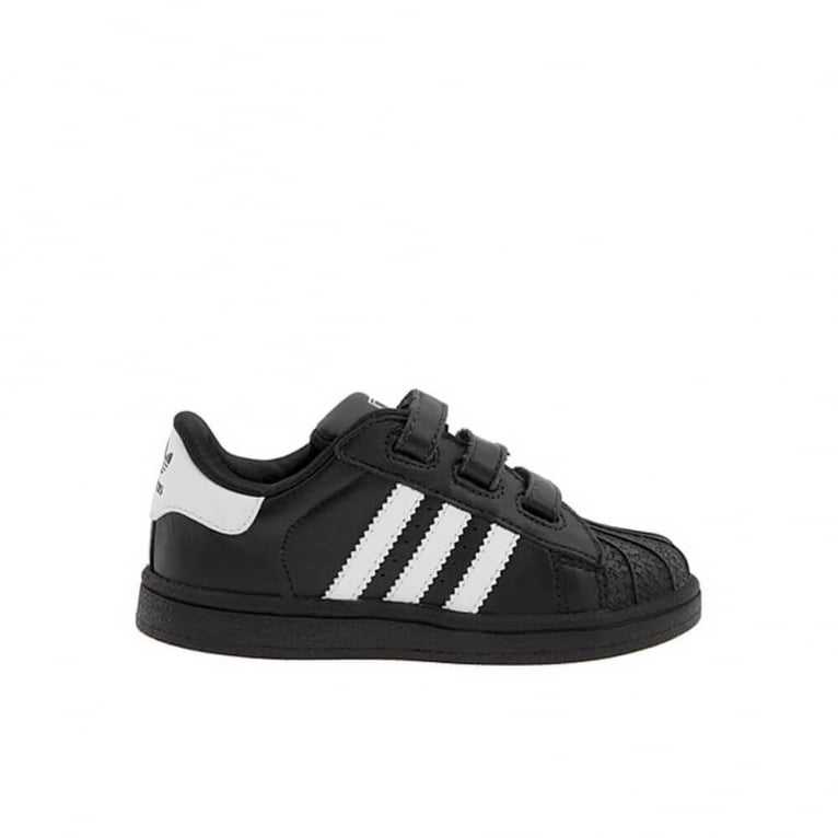 Adidas Originals Superstar 2 Infants - Black/White