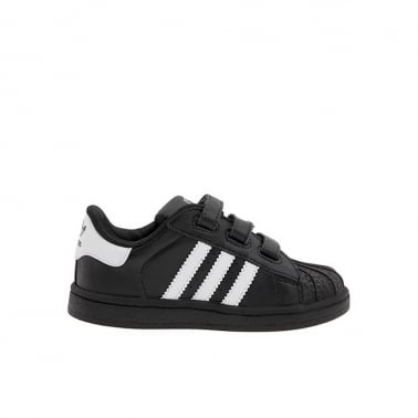 Superstar 2 Infants - Black/White