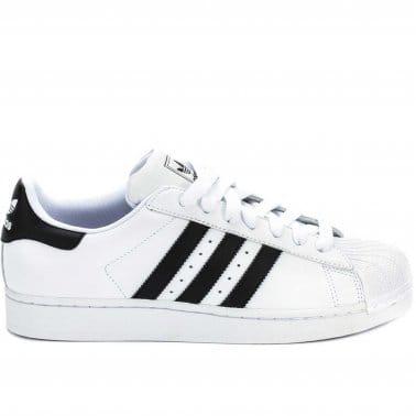 Superstar 2 Kids - White/Black