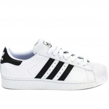 Superstar 2 Kids - White/Black