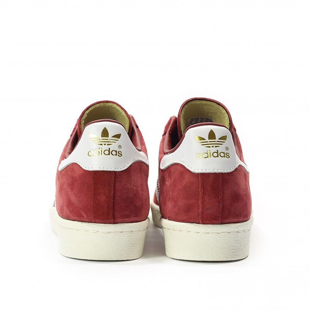adidas original superstar 80s dlx bordeaux