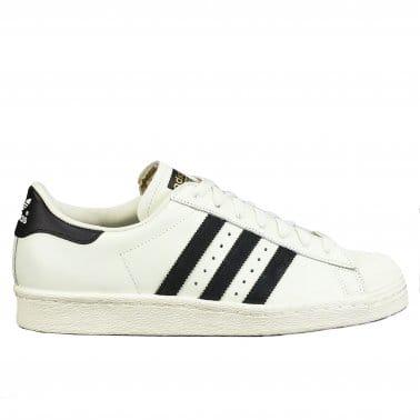 Superstar 80's 'Deluxe' Vintage White/Black