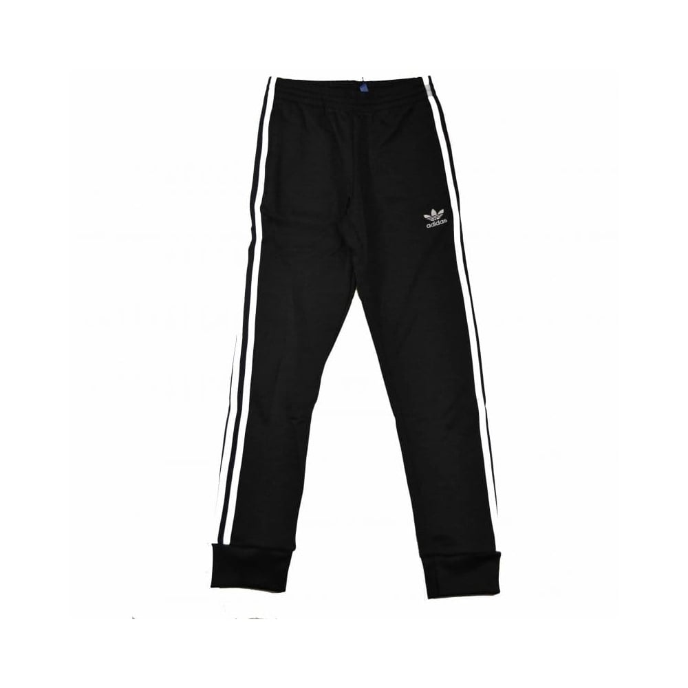 durable modeling outlet for sale cheapest sale adidas originals Superstar Cuffed Track Pant Black