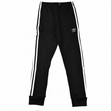 Superstar Cuffed Track Pant Black