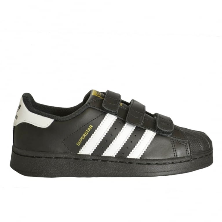 Adidas Originals Superstar Foundation Childrens Black/White