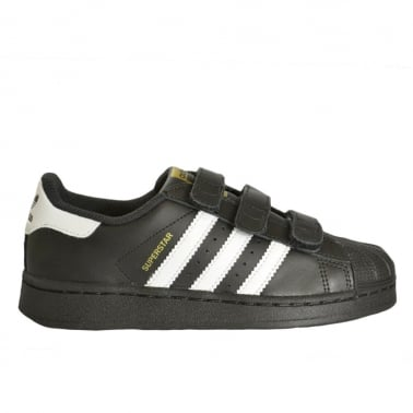 Superstar Foundation Childrens Black/White