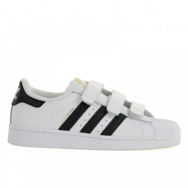 Superstar Foundation Childrens White/Black
