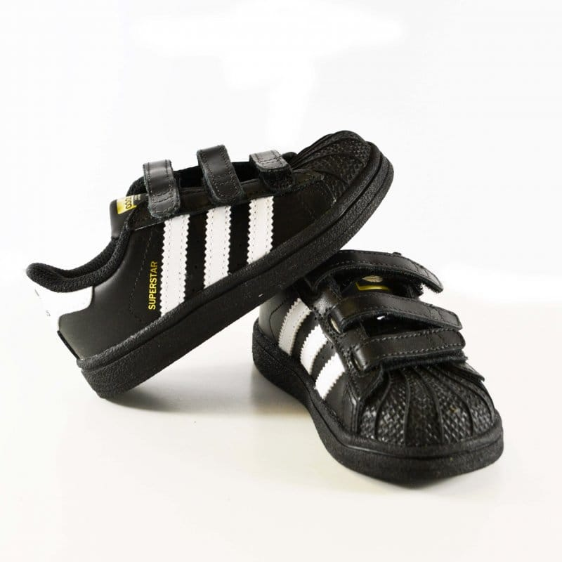 quality design feb35 00e30 Superstar Foundation Infants - Black White