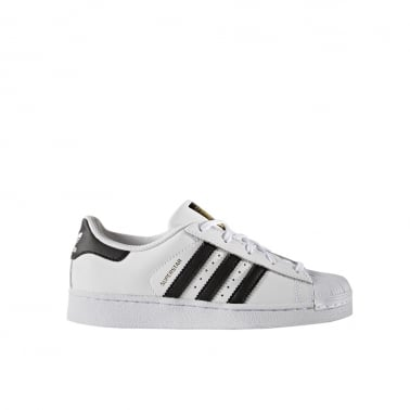 Superstar Foundation Kids - Black/White