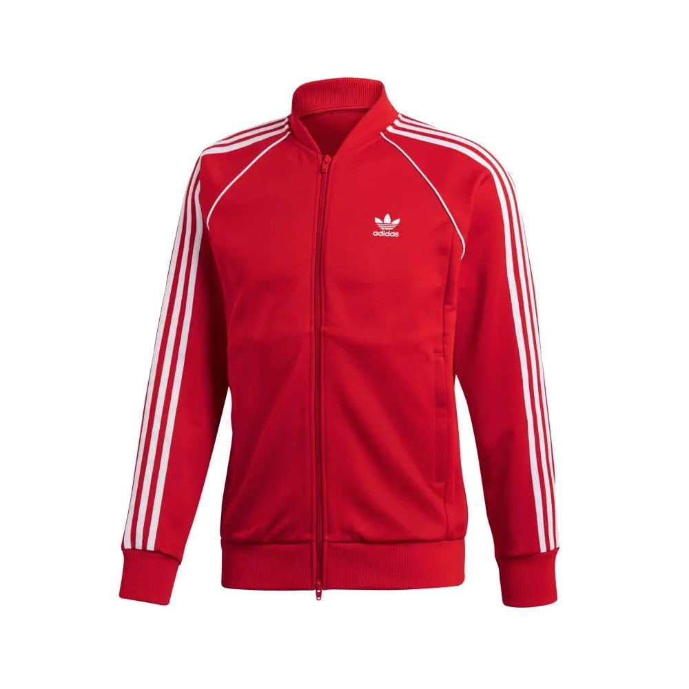 finest selection 6e635 550af adidas originals Superstar Track Top - Collegiate Red