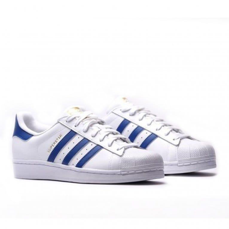 Adidas Originals Superstar - White/Royal
