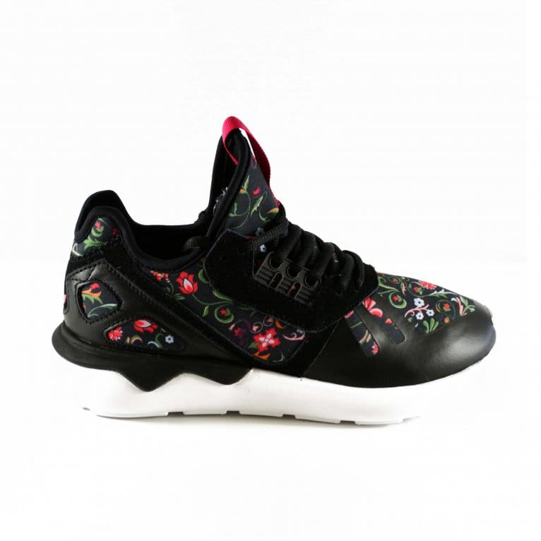 Adidas Originals Tubular Runner Womens - Core Black/Vivid Berry