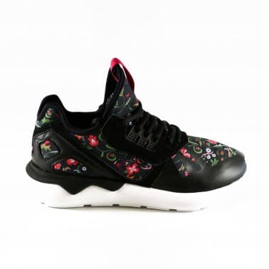 Tubular Runner Womens - Core Black/Vivid Berry