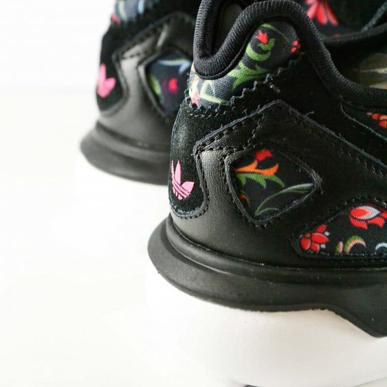 Adidas Originals Tubular Runner Womens - Core Black/Vivid Berry
