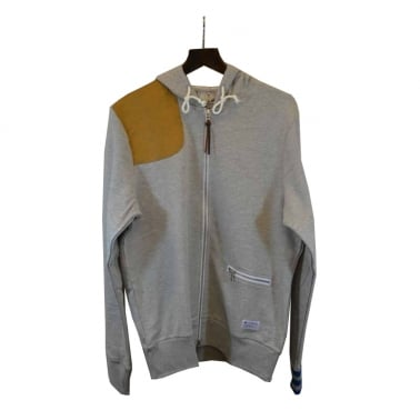 Zip Through Hood Med Grey