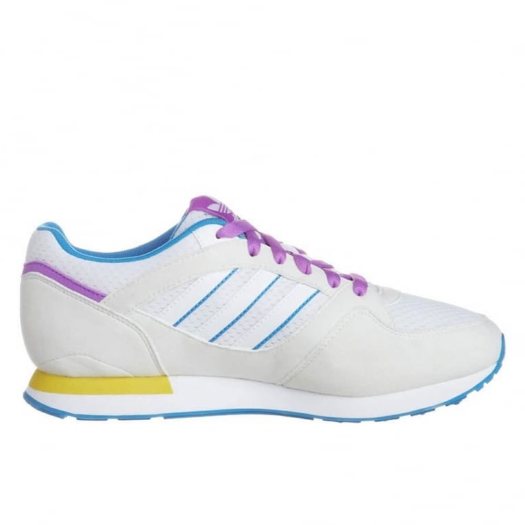Adidas Originals ZX 100 Womens Run White/Blue