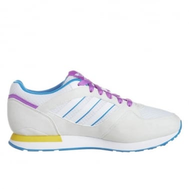 ZX 100 Womens Run White/Blue