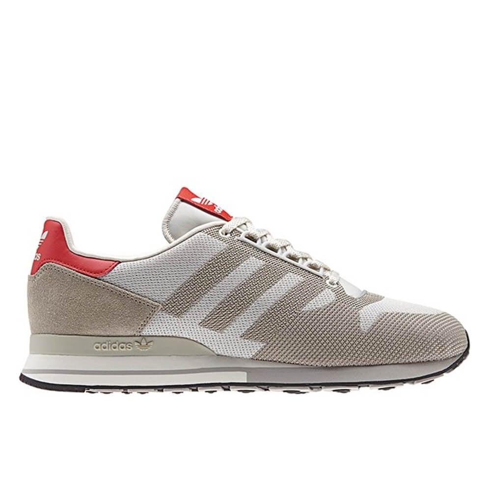 1febf498177cf Adidas Originals ZX 500 OG Weave Grey Red