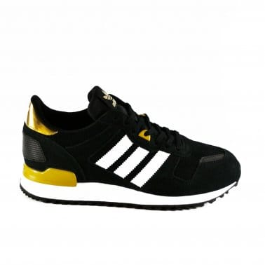 ZX 700 Womens - Black/White/Gold