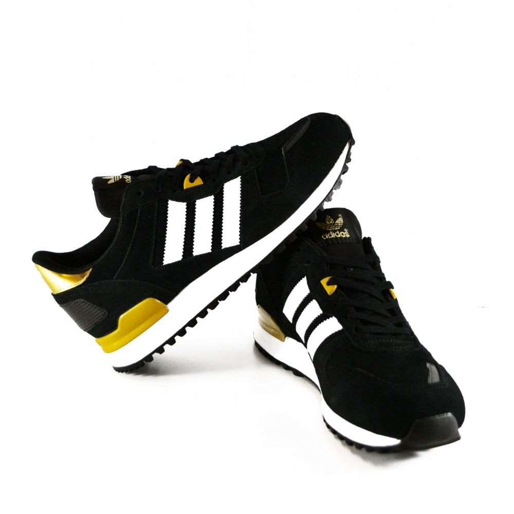 Adidas Zx 700 Black And Gold