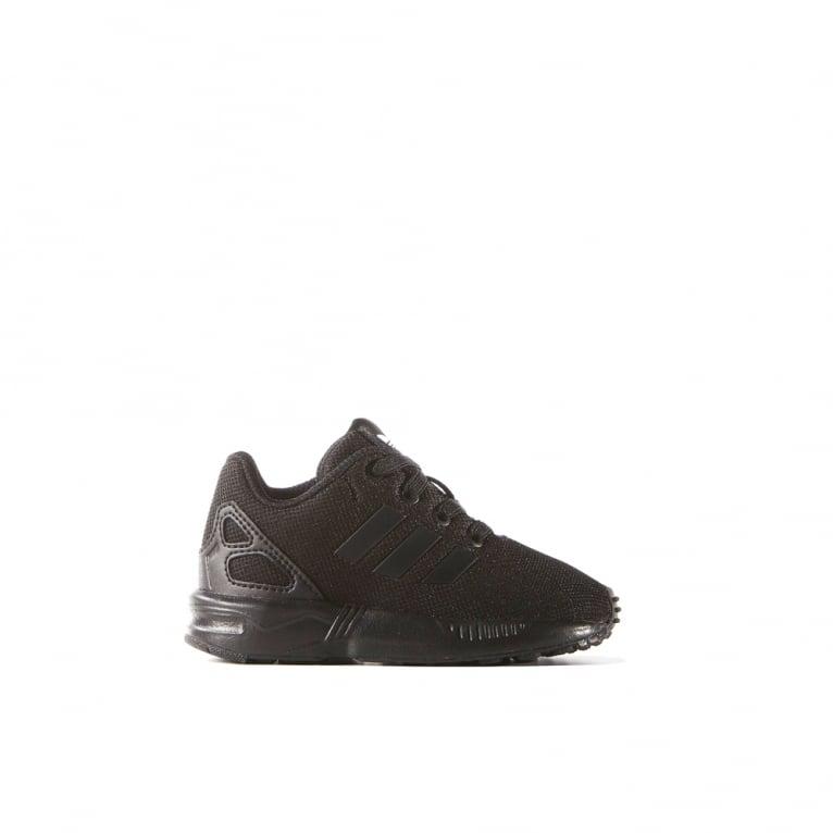 Adidas Originals ZX Flux EL Infants - Black/Black