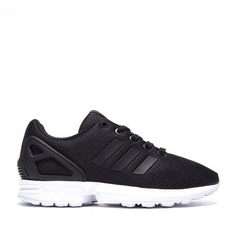 sale retailer 42929 24781 adidas originals ZX Flux Kids - Black/White