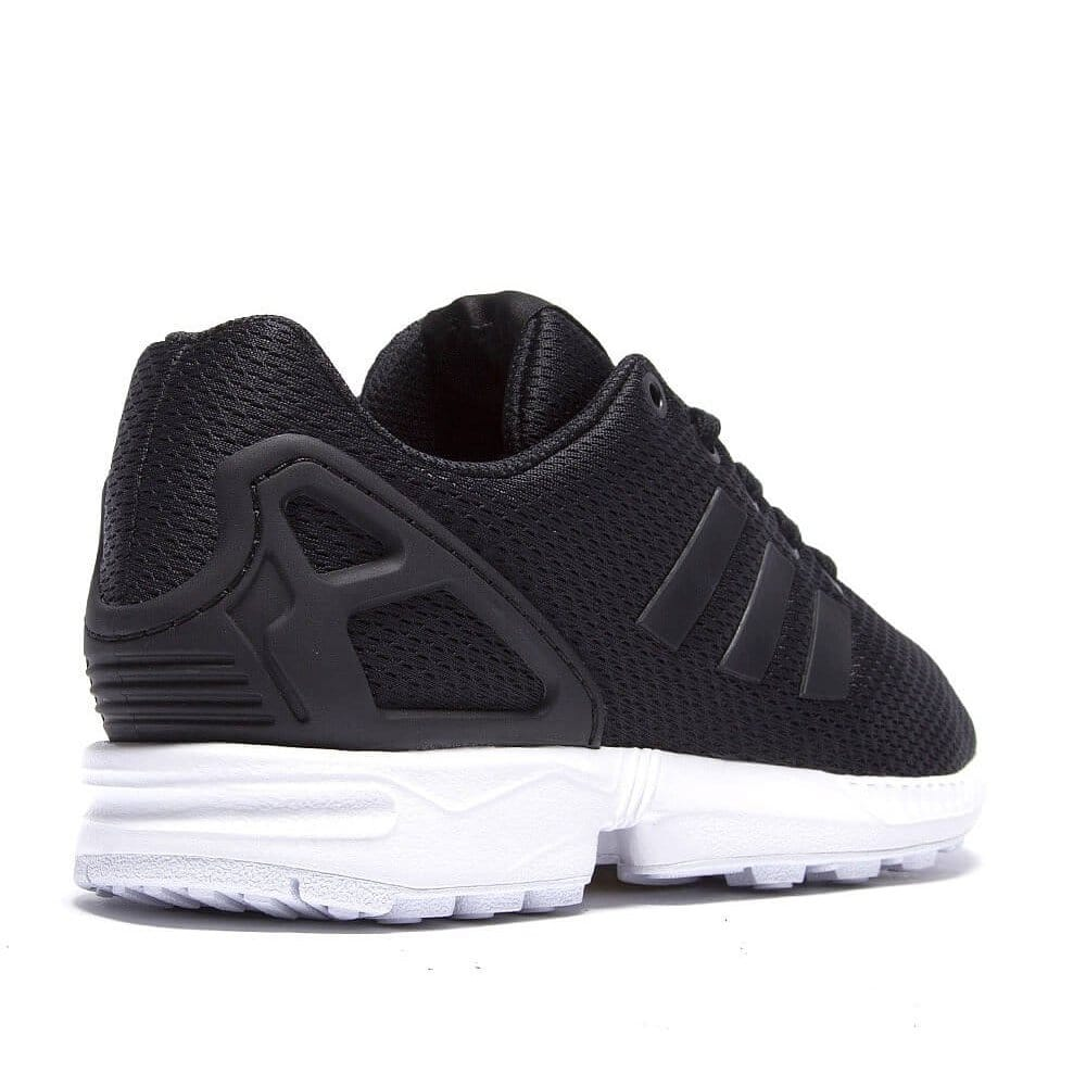 adidas originals zx flux kids black white natterjacks. Black Bedroom Furniture Sets. Home Design Ideas