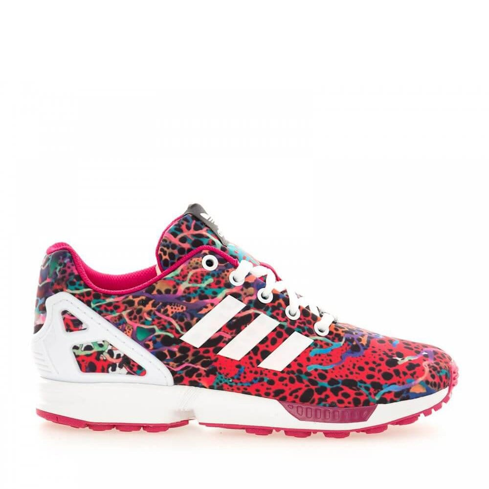 adidas originals zx flux kids pink white natterjacks. Black Bedroom Furniture Sets. Home Design Ideas