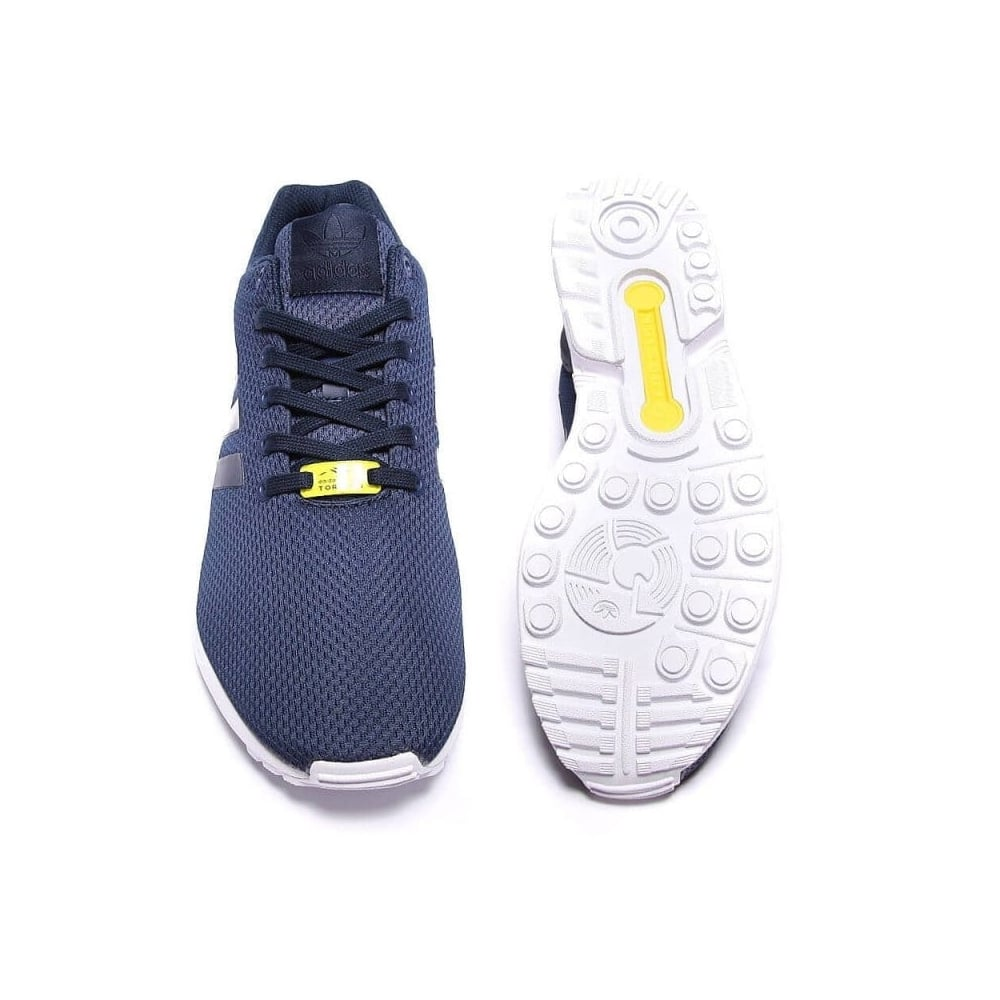 coupon codes super cute special sales adidas originals ZX Flux - New Navy/White