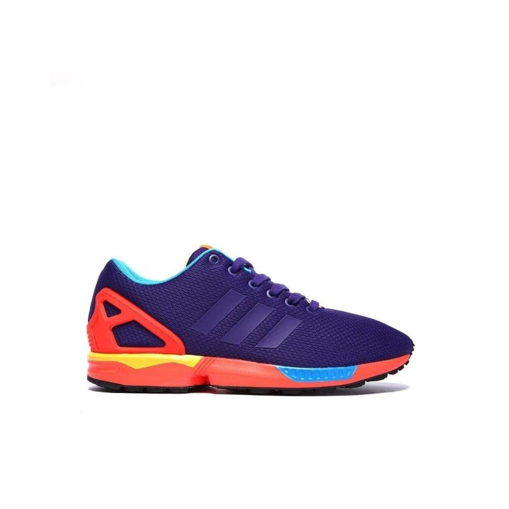 promo code 49e45 258ae adidas originals ZX Flux - Purple/Red