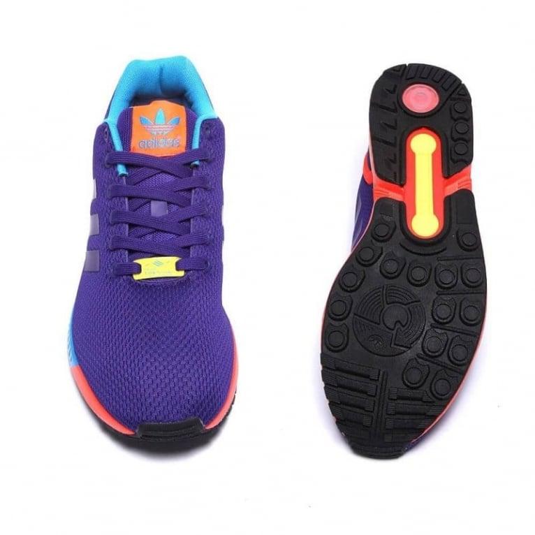 Adidas Originals ZX Flux - Purple/Red