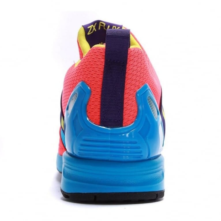 Adidas Originals ZX Flux Slip-on - Blue/Red/Purple