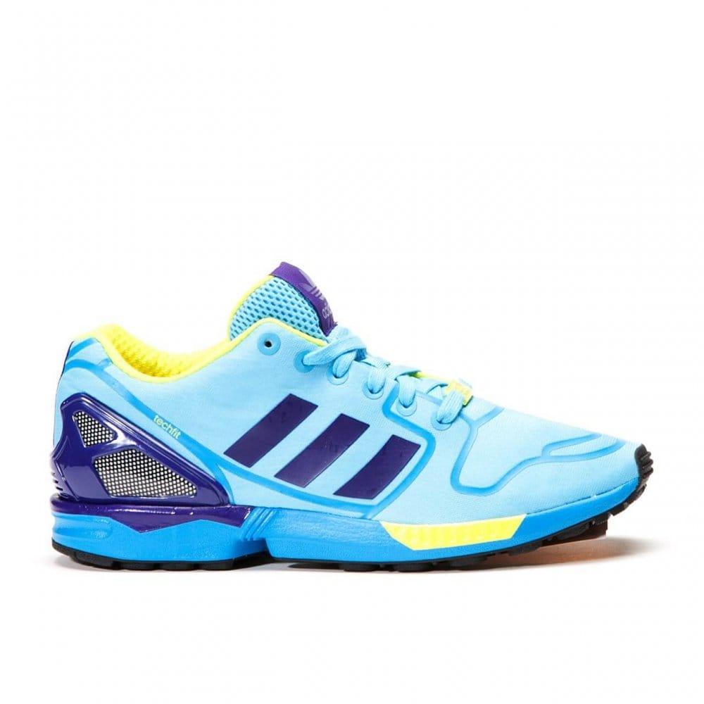 a4520e2c5bc3e ... Size 9  xeno  Aq7418 Zx Statement-ready To Ship Adidas Originals ZX Flux  Techfit OG - Bright Cyan