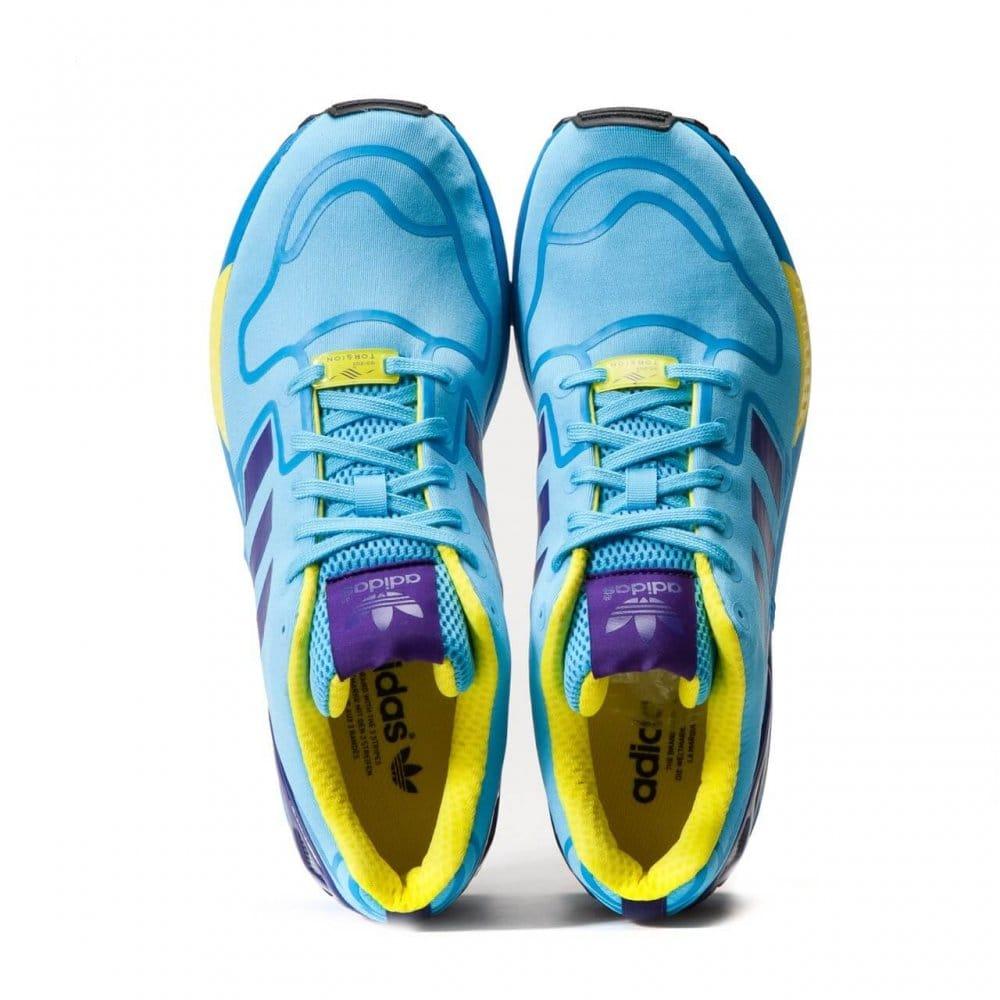 adidas original zx flux cyan