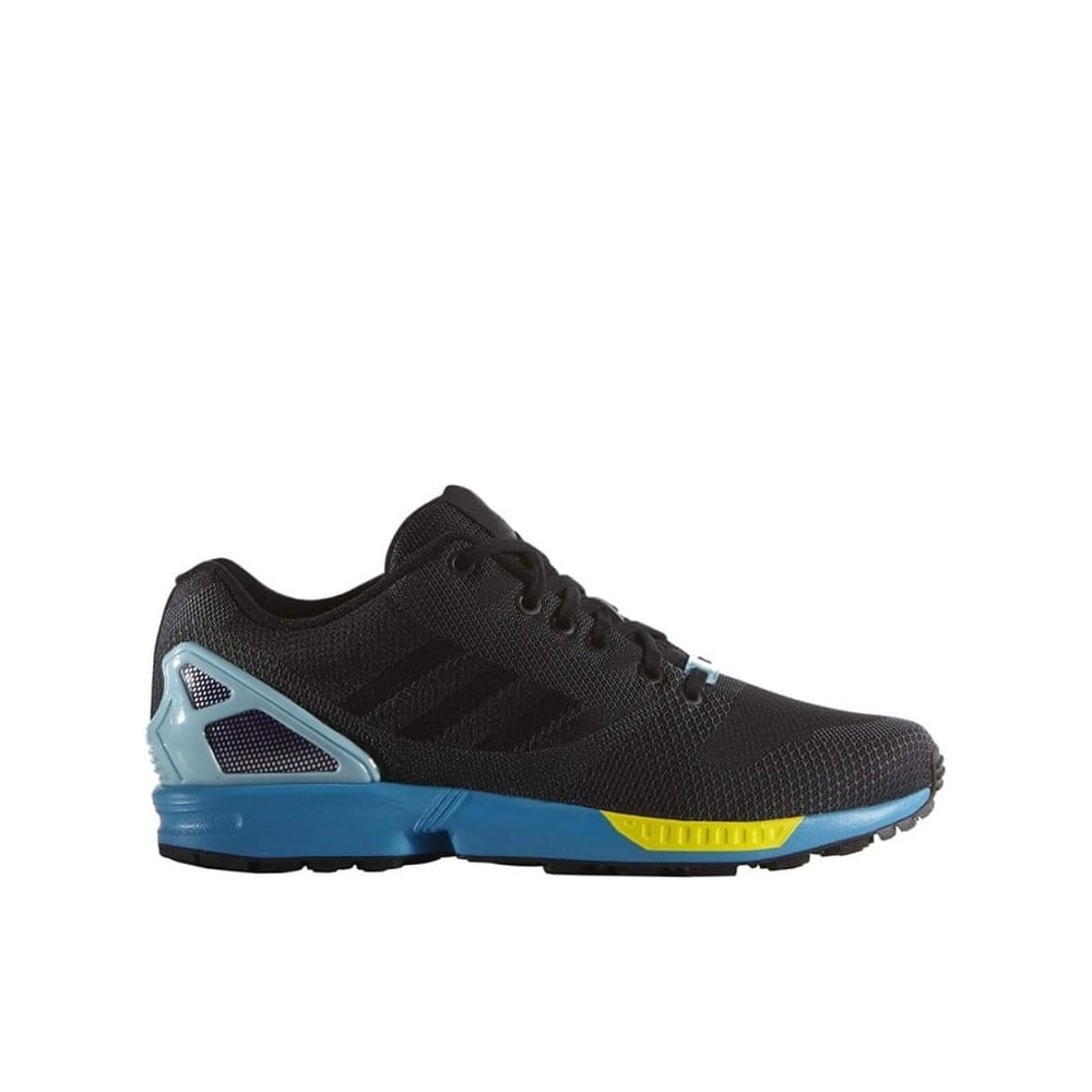 new concept 93a73 0b0ac adidas originals ZX Flux Weave - Black/Aqua