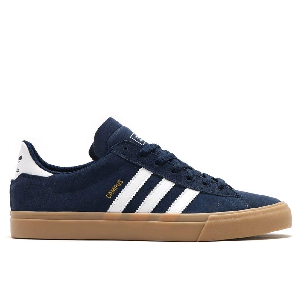 Buy Adidas Skateboarding Campus Vulc II Mist Stone Black  0b5ce5cd72