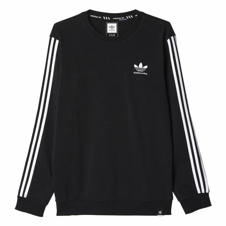 Adidas Skateboarding Climacool 2.0 Crewneck Sweatshirt - Black