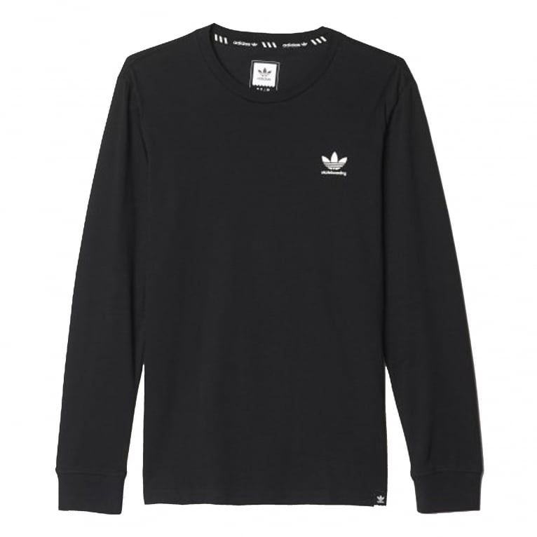 Adidas Skateboarding Climacool 2.0 Long Sleeve T-Shirt - Black