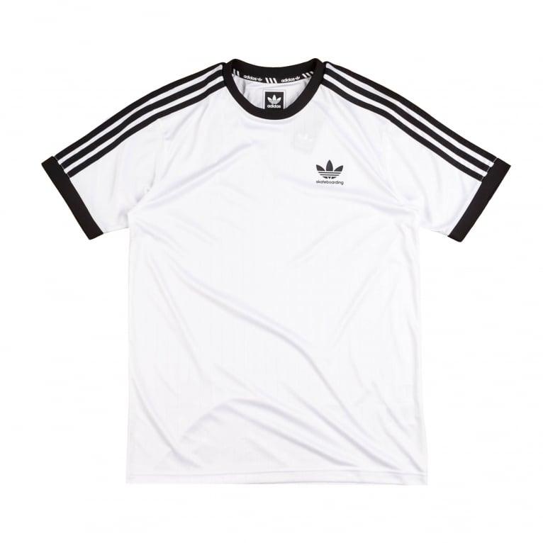 Adidas Skateboarding Climacool Club Jersey - White/Black