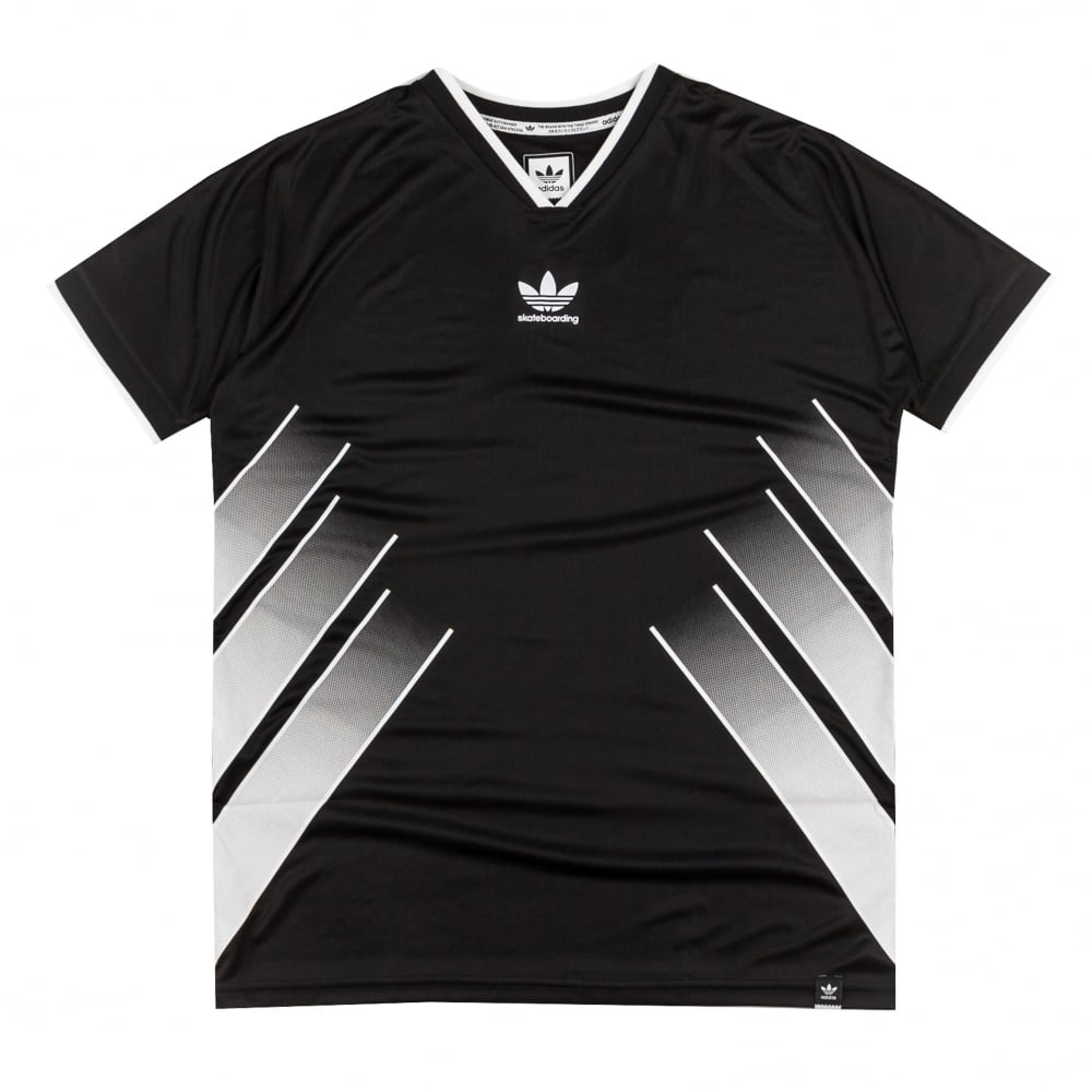 Adidas Skateboarding EQT Jersey - Black/White