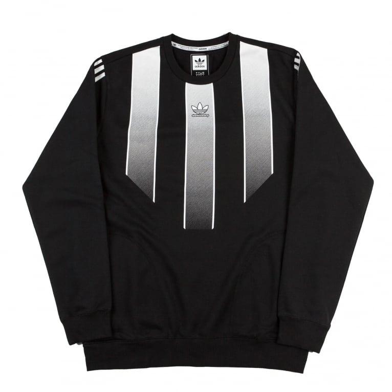 Adidas Skateboarding EQT Sweatshirt - Black/White