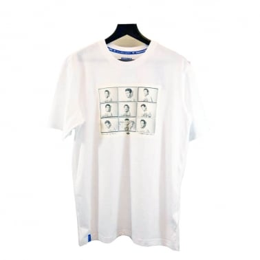 Gonz Photos Tee - White